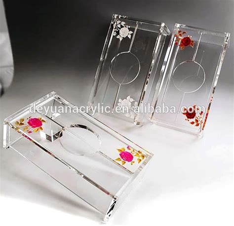 Pre Order Box Tissue Acrylic clear acrylic tissue box holder acrylic tissue box holder acrylic tissue box cover buy