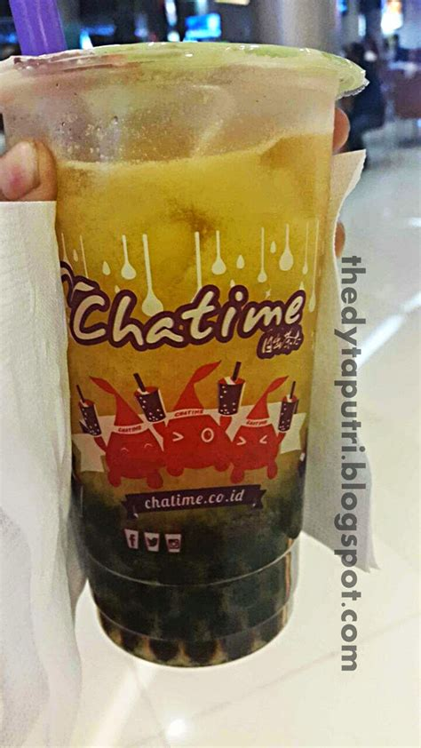 Varian Tea Chocolate Tea get your chocolate strawberry mousse from chatime the dytaputri