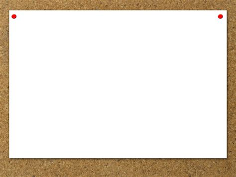 Blank Bulletin Board Backgrounds Presnetation Ppt Powerpoint Board