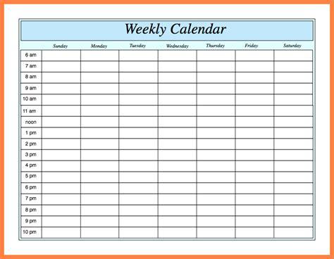 weekly calendar template word 7 weekly calendar template word marital settlements