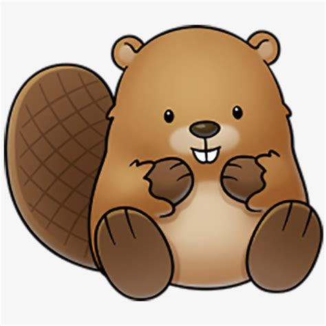 beaver clip brown beaver clipart beaver clipart png image