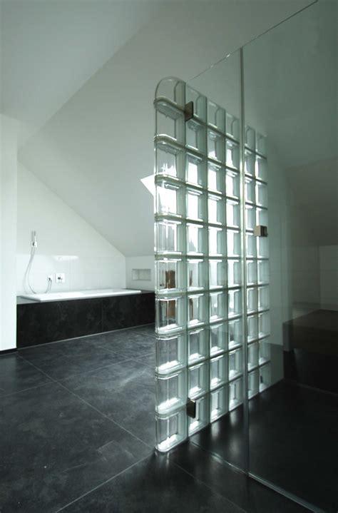 dusche glasbausteine tritschler glasundform glasbausteine