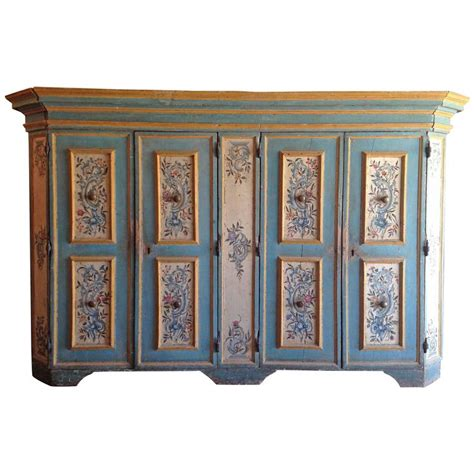 painted armoire for sale antique italian painted armoire for sale at 1stdibs