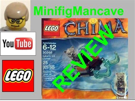 Lego Chima 30266 Sykor S Cruiser Polybag Sykor Kid Minifigure lego legends of chima 30266 sykor s cruiser review