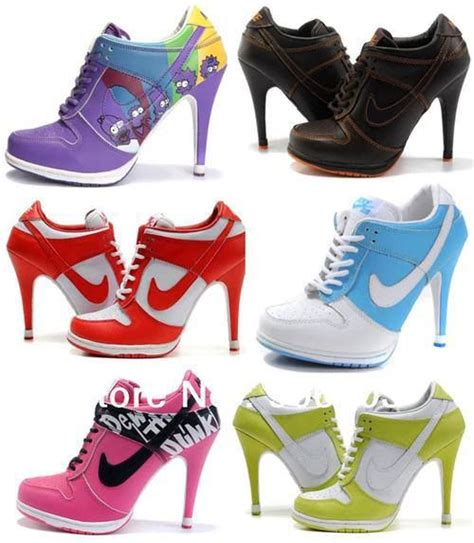 nike sneaker high heels high heeled nike sneakers i d rock that