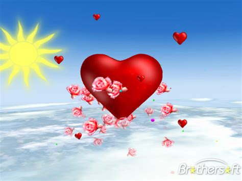 free valentines day screensavers free valentines day 3d screensaver valentines