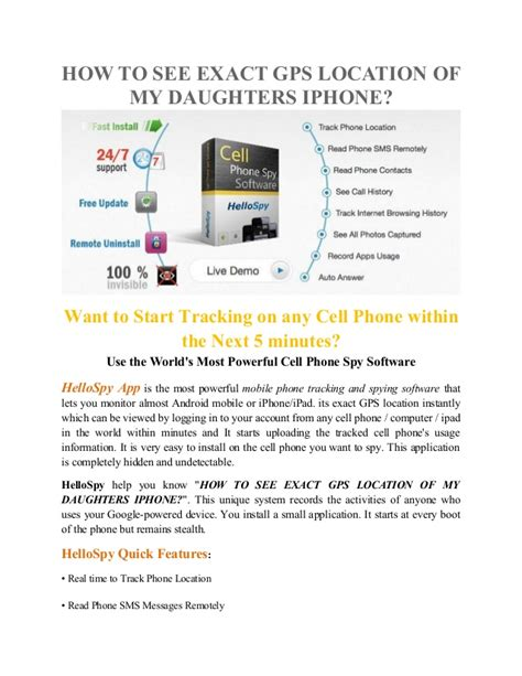 Cellphone Lookup Exact Location How To See Exact Gps Location Of My Daughters Iphone