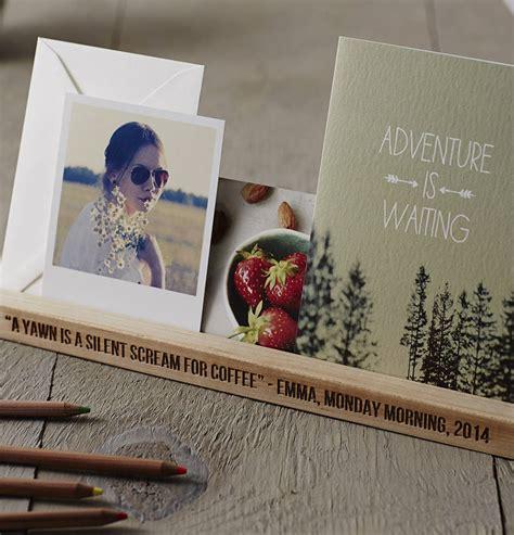 personalised office desk gifts personalised desk organiser by