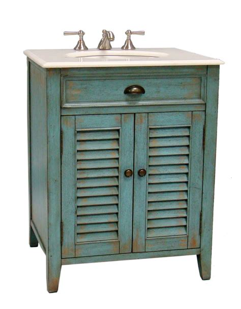 26 Inch Dresser 26 Inch Bathroom Vanity Cottage Style Distressed