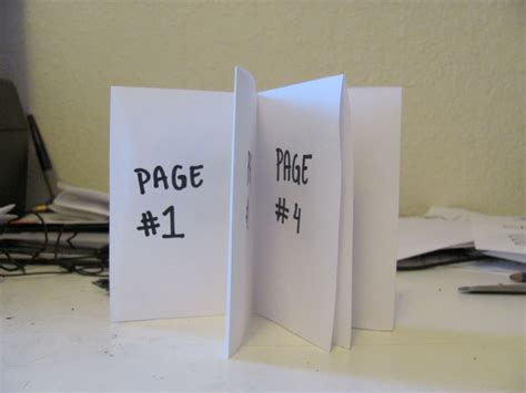 Where Can I Make Copies Of Papers - how to make a one page zine experiment with nature