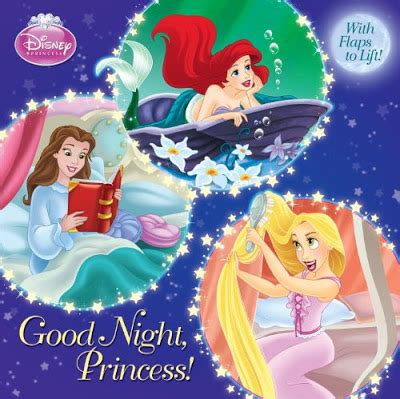 libro good night and good princesas disney julio 2011