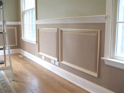 Houzz Wainscoting by Raised Panel Wainscoting Traditional New York By Jl
