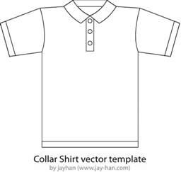 プレーンなポロシャツ裏表の無料ベクタークリップアート素材 all free clipart