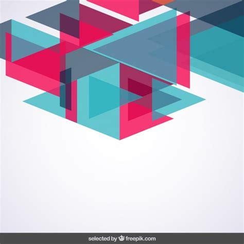 imagenes vectores de triangulos fondo con los tri 225 ngulos azules y rosas descargar