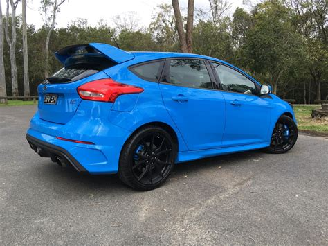 The 2017 Ford Focus Rs Is A Track Car Disguised As A