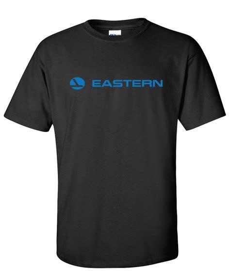Erline Black eastern airline logo graphic t shirt supergraphictees