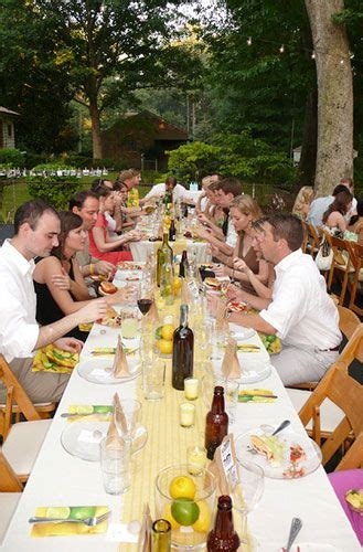 backyard wedding menu 1000 images about table settings on pinterest pop cans