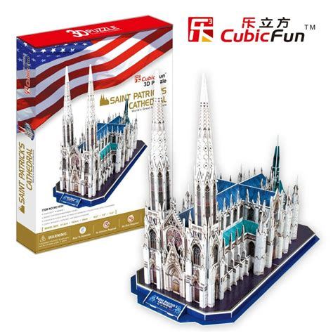 Promo Cubic Puzzle 3d Series Giraffe 3d puzzle s cathedral cubic mc103h 117 pieces jigsaw puzzles monuments