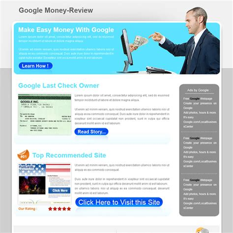 best google money review type html landing page design best google money review type html landing page design