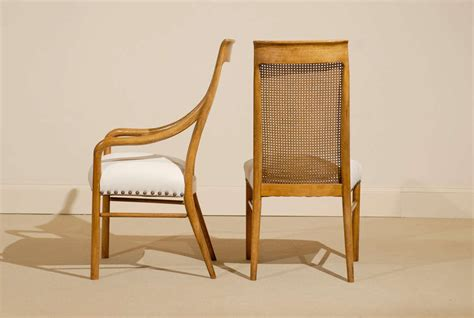 Drexel Heritage Dining Room Chairs by Set Of Six 6 Drexel Cane High Back Dining Chairs At 1stdibs
