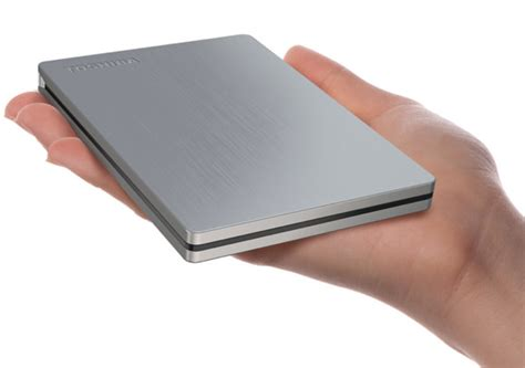 Toshiba Hdd Slim Toshiba Introduces 1tb Canvio Slim Ii External Drive