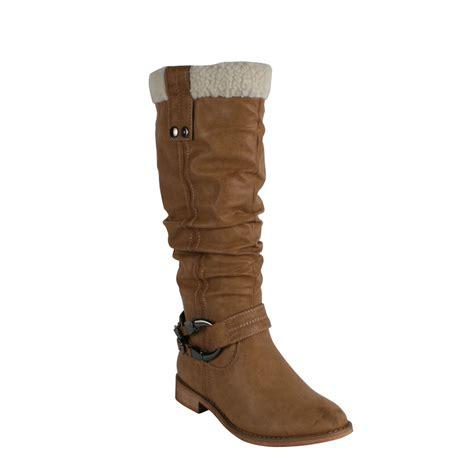reneeze boots reneeze harwin 1 womens side zipper fashion knee high