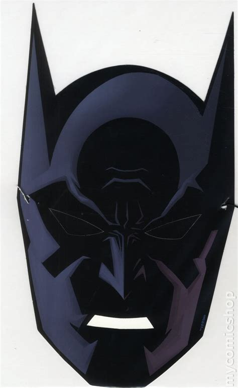 batman 75th anniversary paper mask 2014 dc comic books