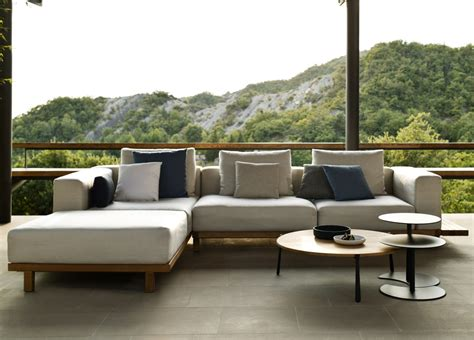 big sofa landscape tribu vis a vis garden sofa tribu outdoor furniture at