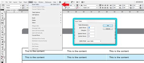 How To Insert Table In Indesign create a table with rounded corner in indesign cs5 5