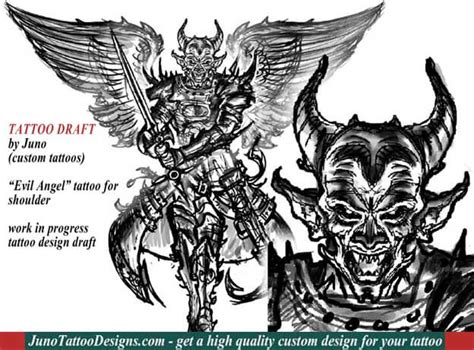 angel vs demon tattoos archives how to create a tattoo