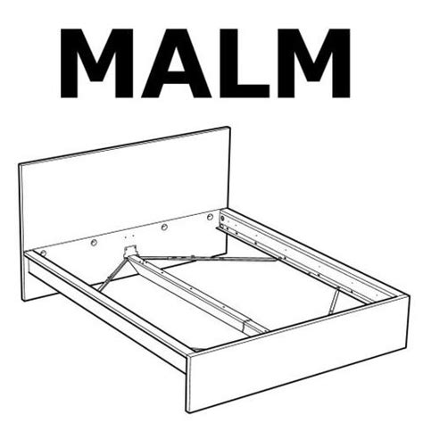 Headboard Replacement Parts by Malm Bed Frame High Bed Replacement Parts
