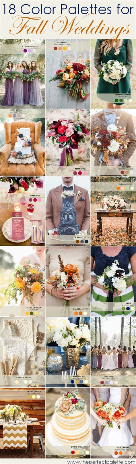 chagne color wedding color tuesday 18 color palettes for fall the pretty