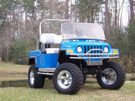 jeep golf carts