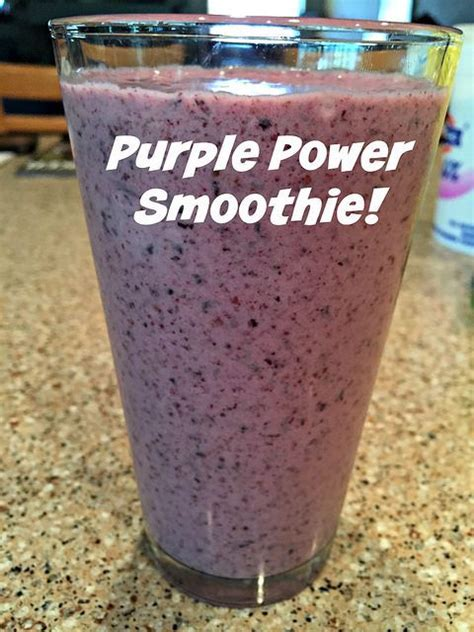 Recipe For Purple Power Detox Smoothie by 10 Best Images About Breakfast On Granola