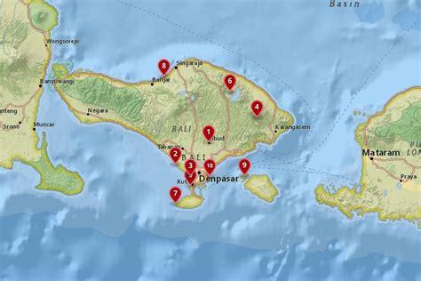 places  visit  bali   map touropia