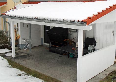 terrassenüberdachung alu glas freistehend dekor terrasse dach