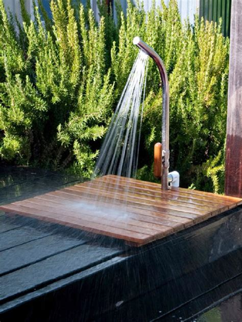 simple outdoor shower simple outdoor showers hgtv