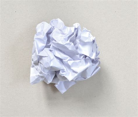 Paper Balls - crumpled paper up of crumpled paper on