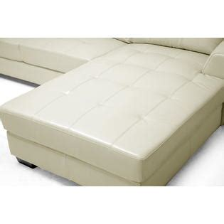 Dobson Sectional Sofa Baxton Studio Dobson Leather Modern Sectional Sofa Home Furniture Living Room