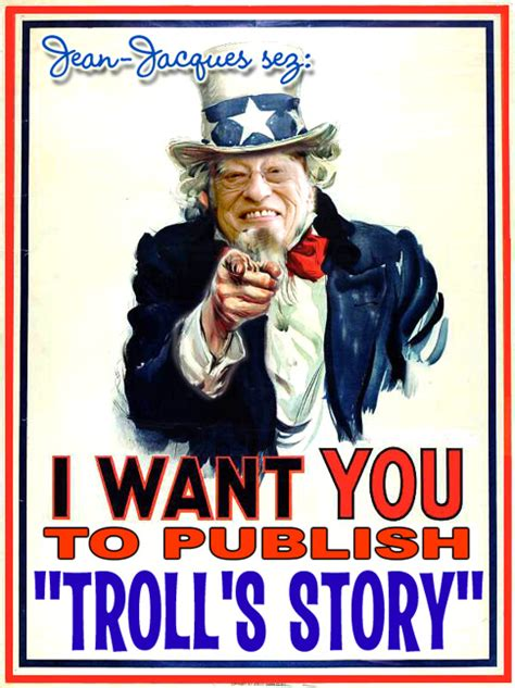 i want to be you zip s story books jean jacques perrey s troll story