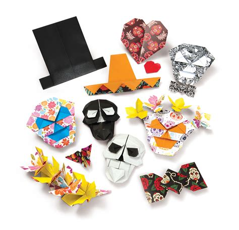 Origami Of The Day - day of the dead origami origami craft adults