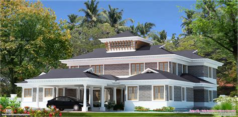 luxury villa design 5000 sq feet luxury villa design kerala home design and