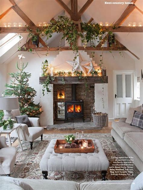 Cottage For New Years by 16 Adorable Cozy Cottage New Year Decoration Ideas That