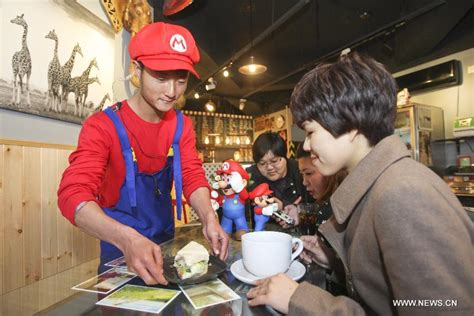 newspaper themed restaurant mario themed restaurant opens in tianjin photo gallery