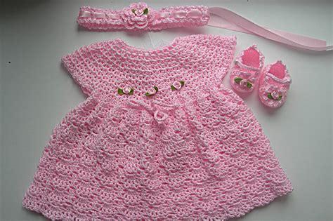 crochet pattern pink girl dress baby girl crochet patterns free crochet patterns