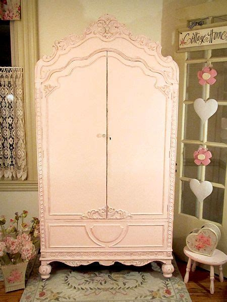 pretty pink armoire shabby chic 1 pinterest
