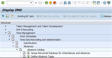 Sap Hr Attendance Absences Tutorialspoint