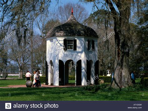 houmas house garconierre at houmas house plantation and gardens river road stock photo royalty