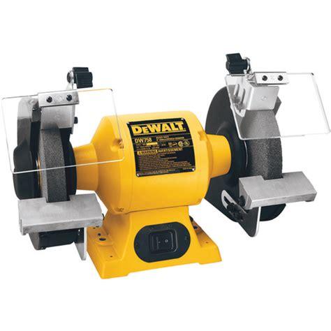 bench grinder tool rest dw758 8 quot 205mm bench grinder dewalt tools