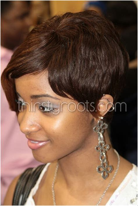 Weave Hairstyles With Bangs by Weave Hairstyles With Bangs